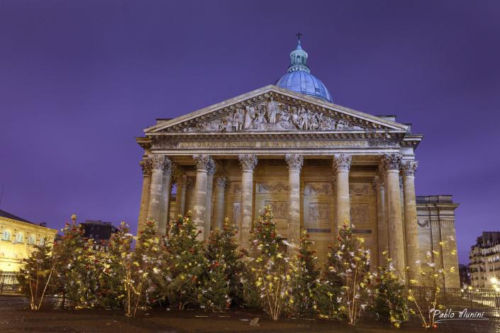 Place du Pantheon, Christmas,Paris.Pablo Munini.