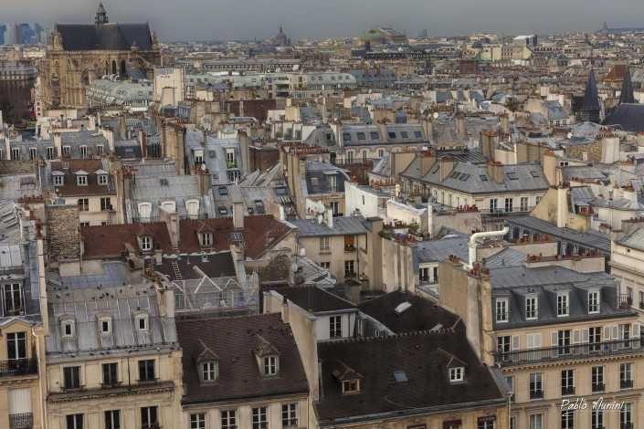 The roofs of Paris, 2012. Pablo Munini