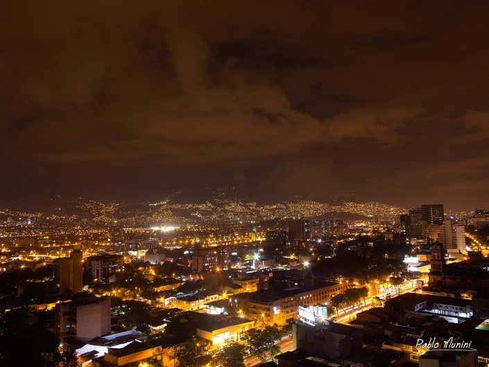 Medellin Photography.Night photography of Medellin.Colombia photogallery. Travel photography Colombia.Colombia Photography.elevated panoramic view Medellin Colombia night. Medellin Photography. second-largest city in Colombia and the capital of the department of Antioquia.