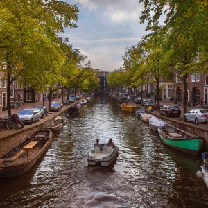 Canals in autumn - Amsterdam photogallery.Pablo Munini