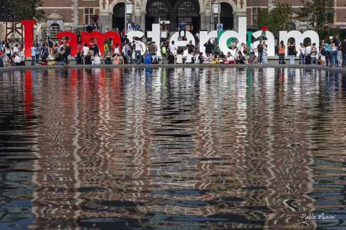 I love amsterdam letters.Rijksmuseum Amsterdam.Pablo Munini