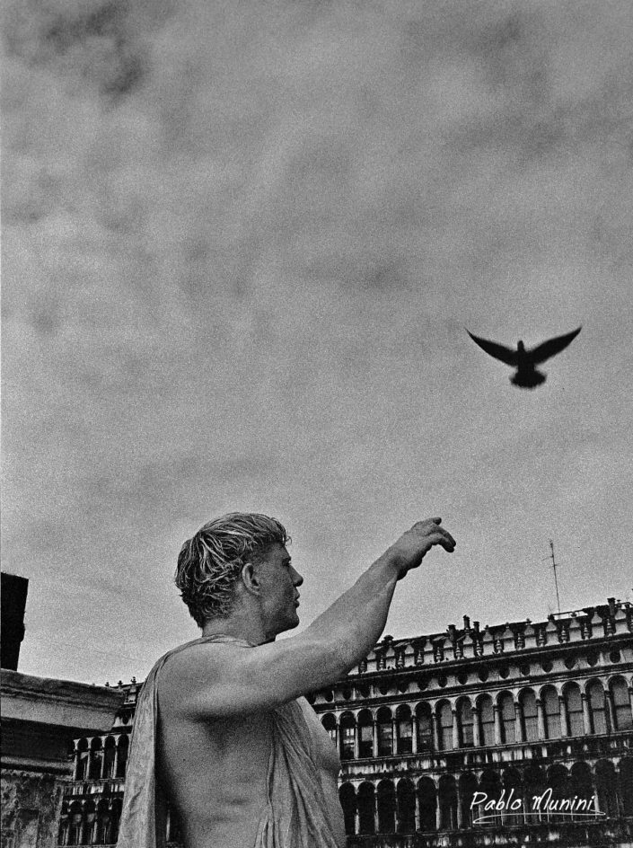 Loggetta and Piazza San Marco, Carnival1998. Pablo Munini Photography