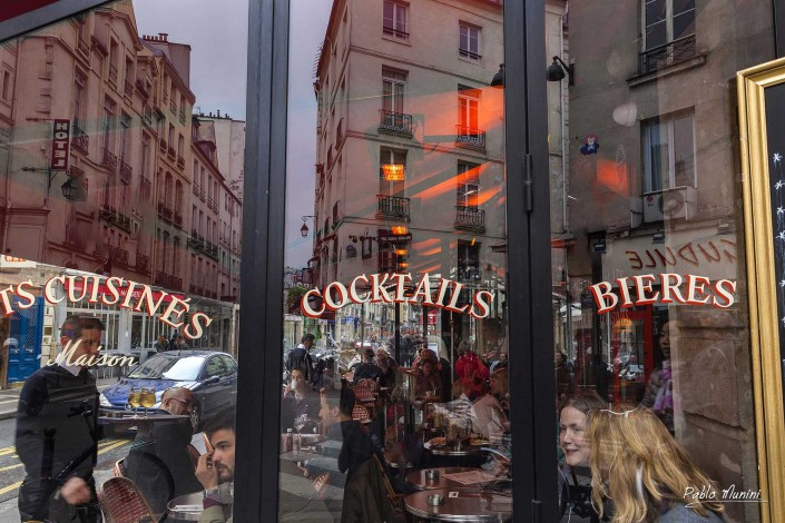 cafés,restaurants, bistros, terrasses Paris Photogallery. Paris street photography.