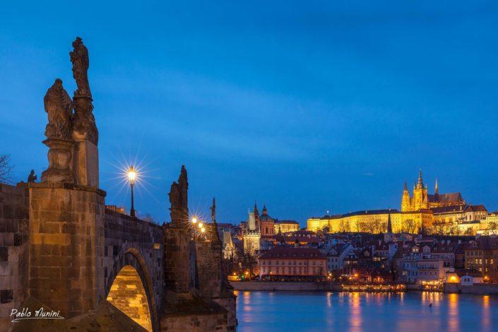 St. Charles bridge Vltava river,St. Vitus Cathedral Prague Castle. Best photos Prague.Prague top places.golden city of a hundred spires.capital of Bohemia.