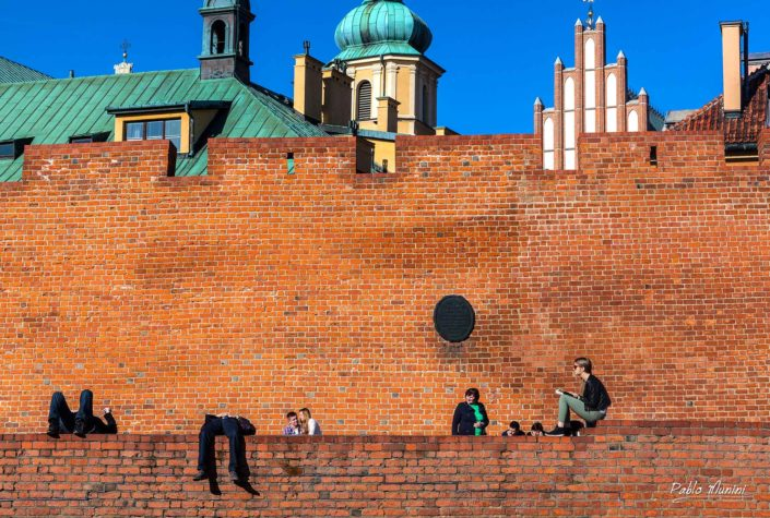 City walls Warsaw St. John's Archcathedral St. Martin's Church. walls around Warsaw Old Town.Warsaw Barbican relics network historic fortifications that encircled Warsaw. landmarks Warsaw, best photos Warsaw,raised between the 13th and 16th centuries, rebuilt 1950–1963,Phoenix city Warsaw Photography Old town