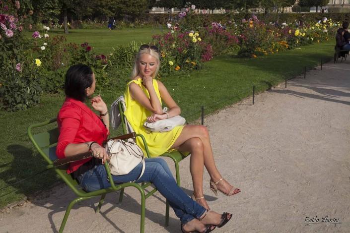 The Tuileries Garden, Paris.Pablo Munini.