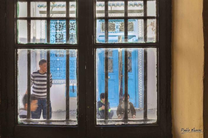 La Goulette italian fishing village Tunisia. cospicua comunità italiana esponenti di spicco l'attrice Claudia Cardinale Piccola Sicilia.people in tunisia