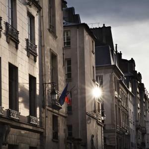 Sévigné street -Rue de Sévigné, Le Marais, Paris. Pablo Munini.