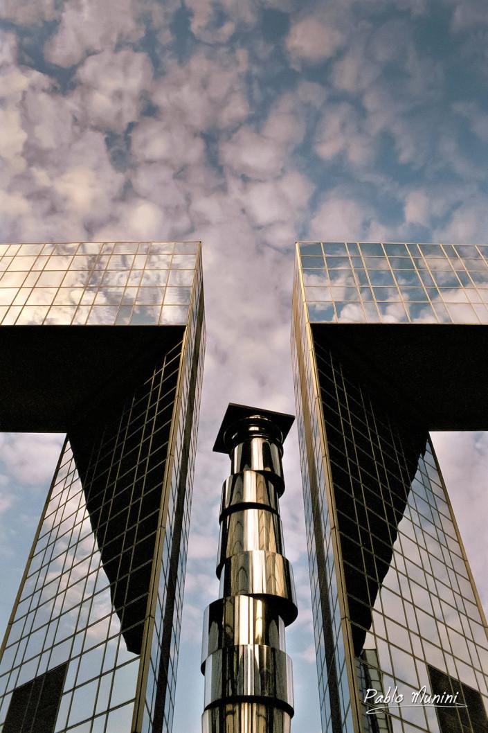 Parc Andre Citroen, Paris 15th district,1994.Pablo Munini