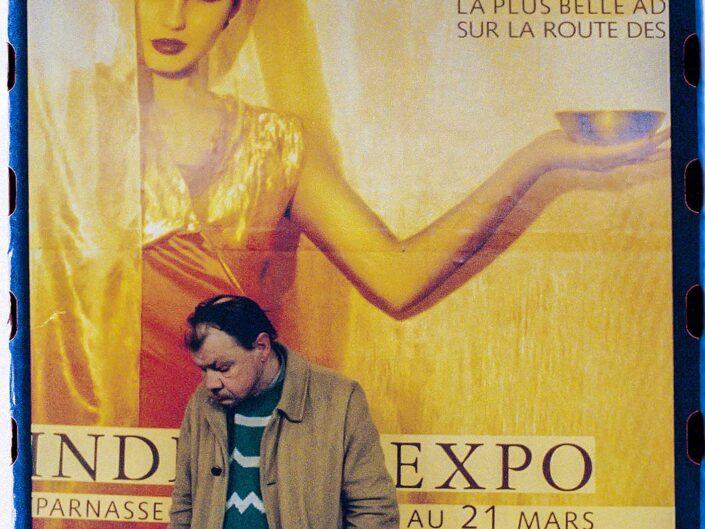 Images in the metro stations in Paris, 1998.Pablo Munini