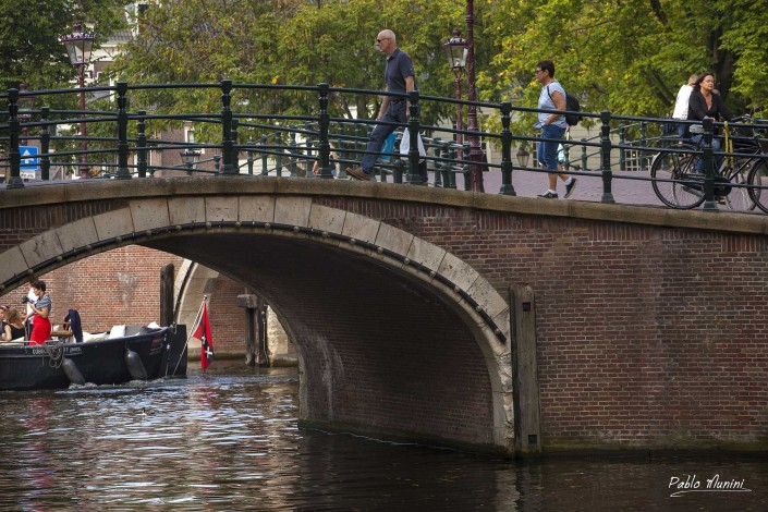 Keizersgracht channel. Amsterdam images.Pablo Munini