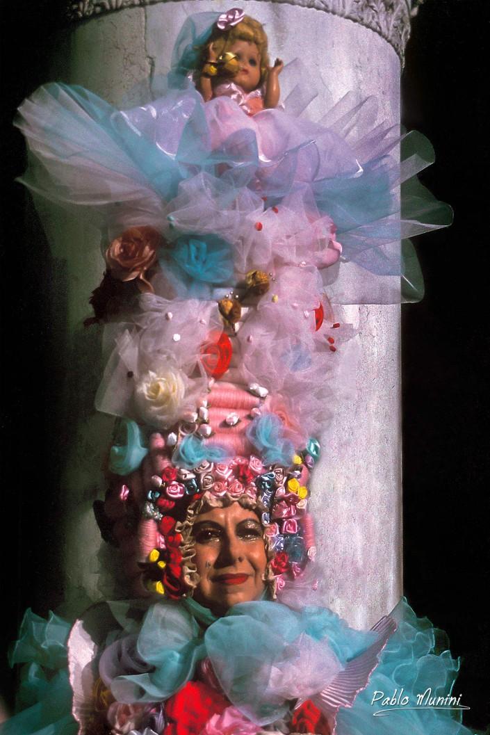 Carnevale in Piazza San Marco, 1993 Pablo Munini photography carnival in Venice