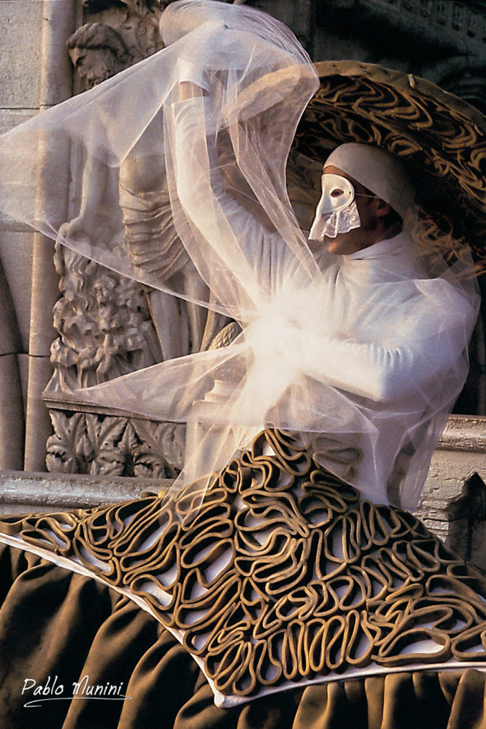 The drunkenness of Noah, Carnival Venice 1993.Pablo Munini