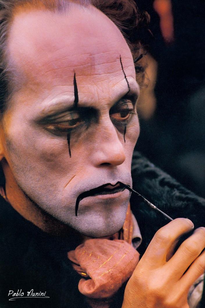 Carnevale di Venezia 1998 . Analog photography Pablo Munini.