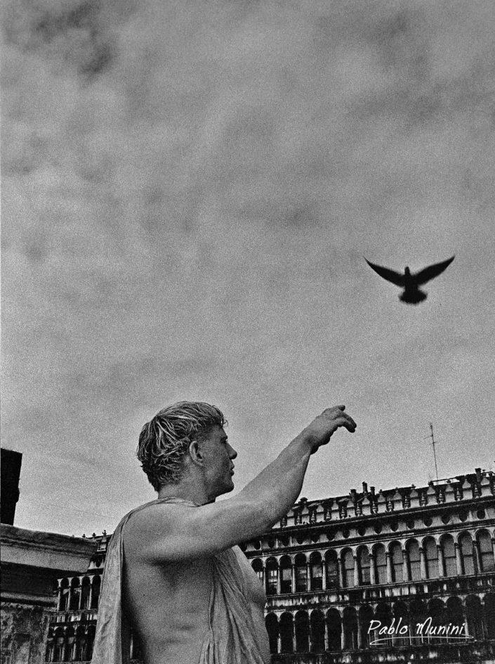 Loggetta and Piazza San Marco, Carnival1998. Pablo Munini Photography