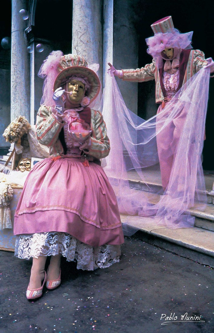 Carnevale in Piazza San Marco ,1992 Pablo Munini Photography