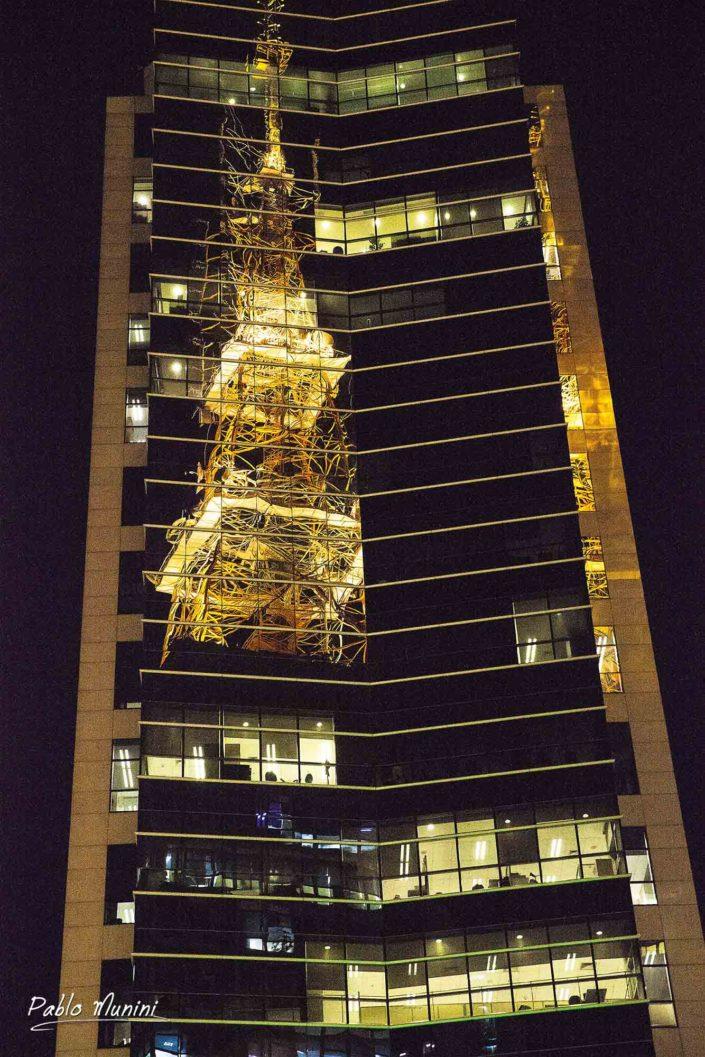 reflections TV Gazeta tower façade skyscraper Paulista avenue. best photos São Paulo urban photography. iconic buildings most populated city Brazil.